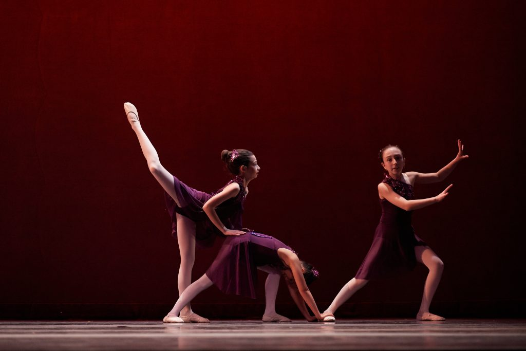 3 girls performing in NYC - The Ballet Club